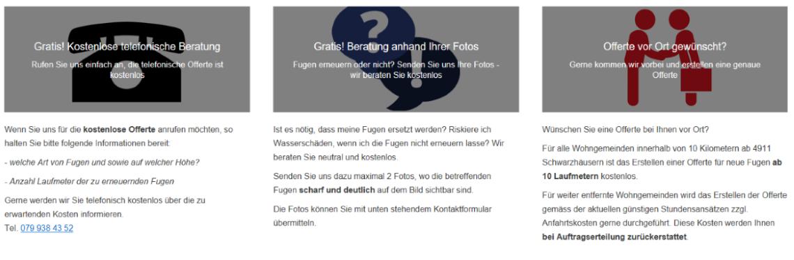 Infos Dichtomat
